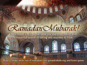 Happy Ramadan mubaric