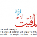 Allah name Al-Muqit