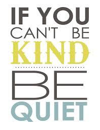 Be a kind Muslim