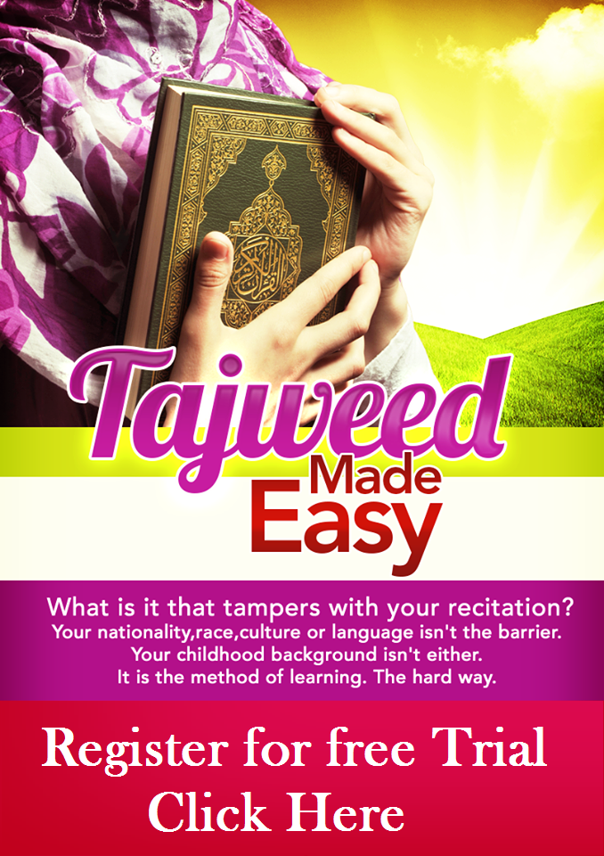 Tajweed Quran reading made easy.