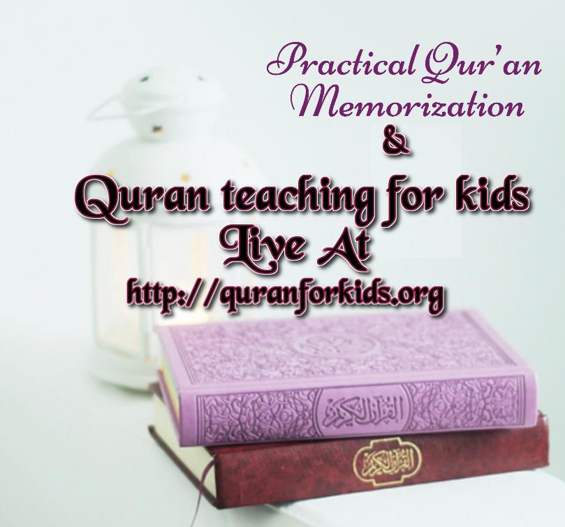 Quran Teaching For Kids.