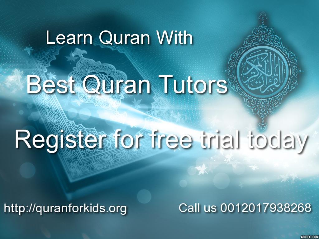 Best Quran Tutoring Service